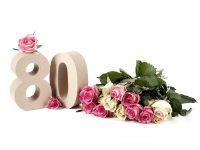 Prezent dla mamy na 80 urodziny