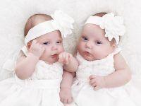 Prezent na chrzciny dla bliźniaków