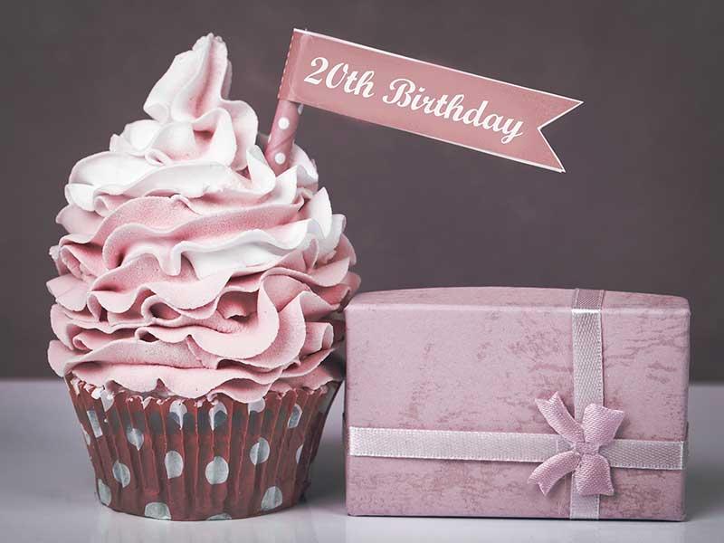 wspaniały prezent na 20 urodziny dla chłopaka i dziewczyny