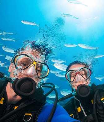 Bestseller Nasz pierwszy raz: nurkowanie dla dwojga z nauką całowania pod wodą + 10 zdjęć HD