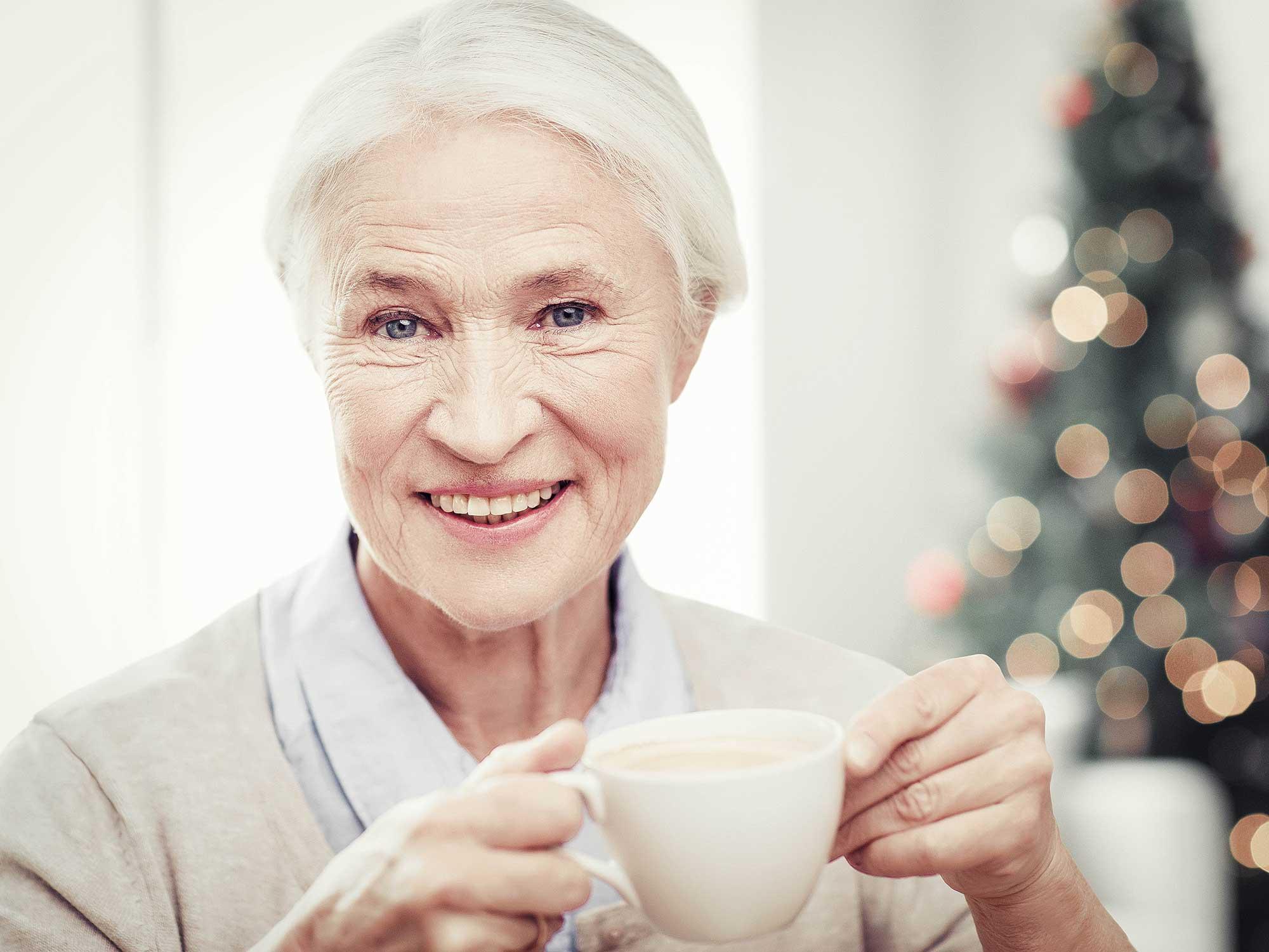 Prezent dla babci pod choinkę