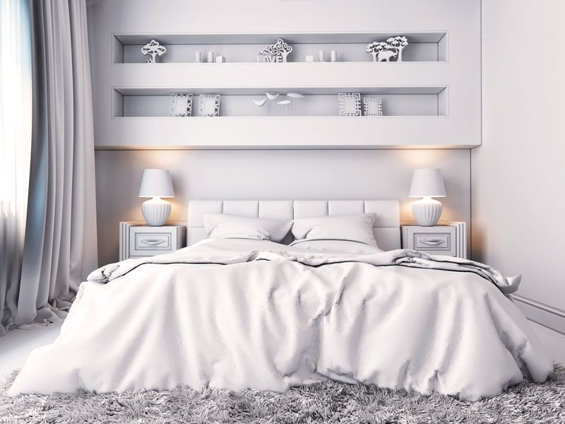 mała sypialnia pomysły