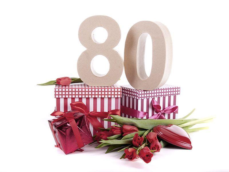 prezent na 80 urodziny taty