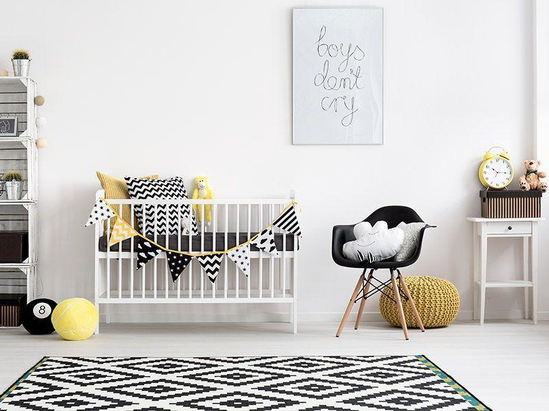 projekt pokoju niemowlaka