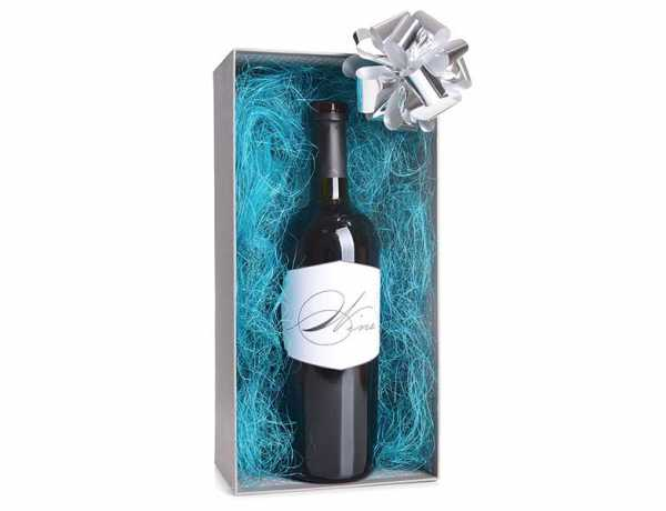 jak ozdobić butelkę wina na prezent ślubny