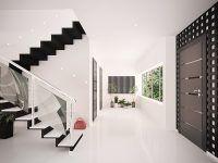 Znajomi remontują dom? Projekt przedpokoju ze schodami będzie świetnym pomysłem na prezent