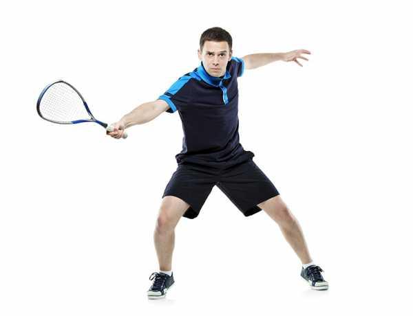 Sprawdź jak się gra w squasha