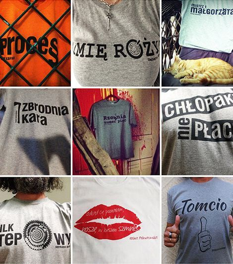 literacki T-shirt