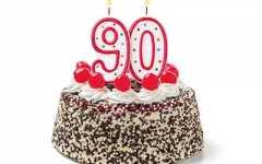 Prezent dla 90 latki
