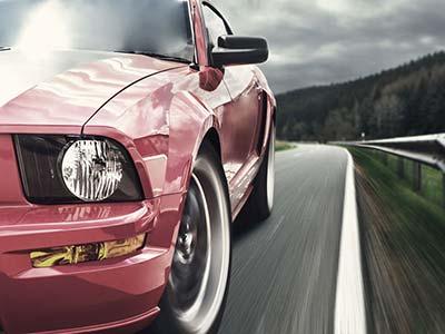 Jazda sportowym samochodem