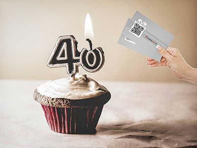 oryginalny prezent na 40 urodziny
