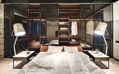 Projekt sypialni z garderobą