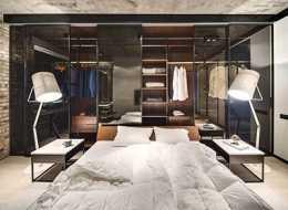 Projekt sypialni z garderobą jako pomysł na kartę podarunkową