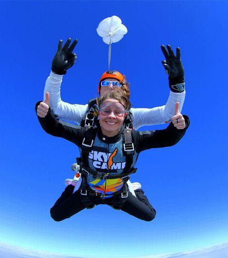 voucher na skok ze spadochronem
