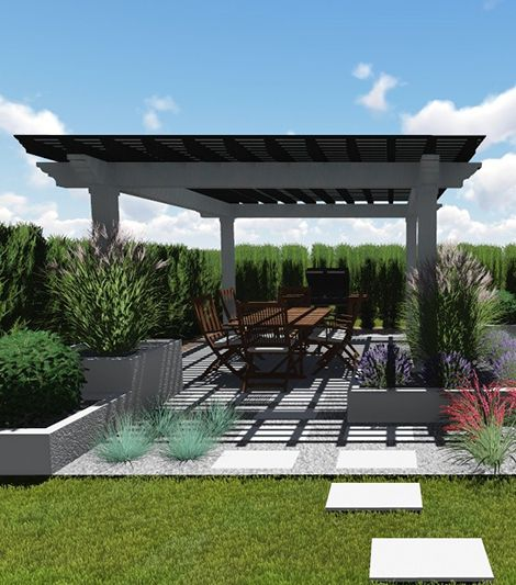 projekt altany do  ogrodu