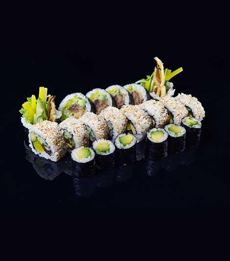 zestaw sushi na prezent świąteczny dla chłopaka