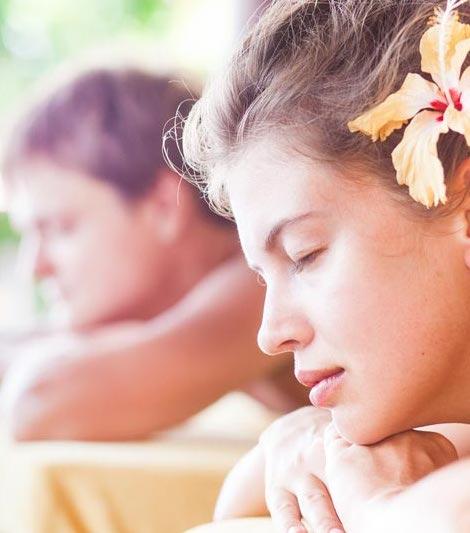 masaż ciała dla dwojga
