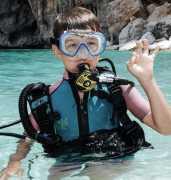 nurkowanie dla dzieci i młodzieży