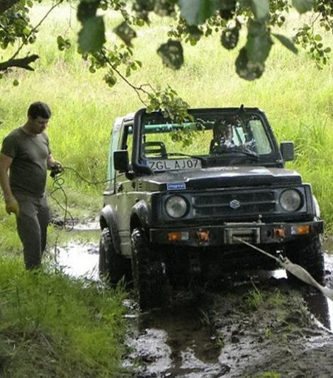 szkolenie z jazdy terenowej