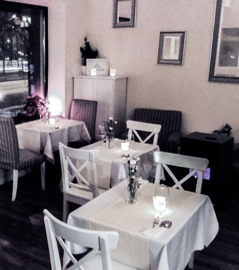 romantyczna kolacja dla dwojga