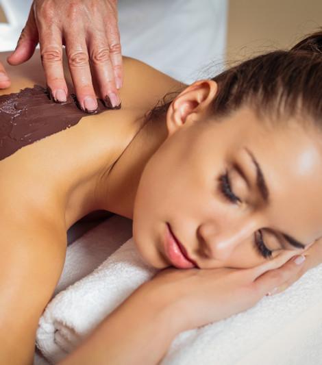 masaż klasyczny lub czekoladowy